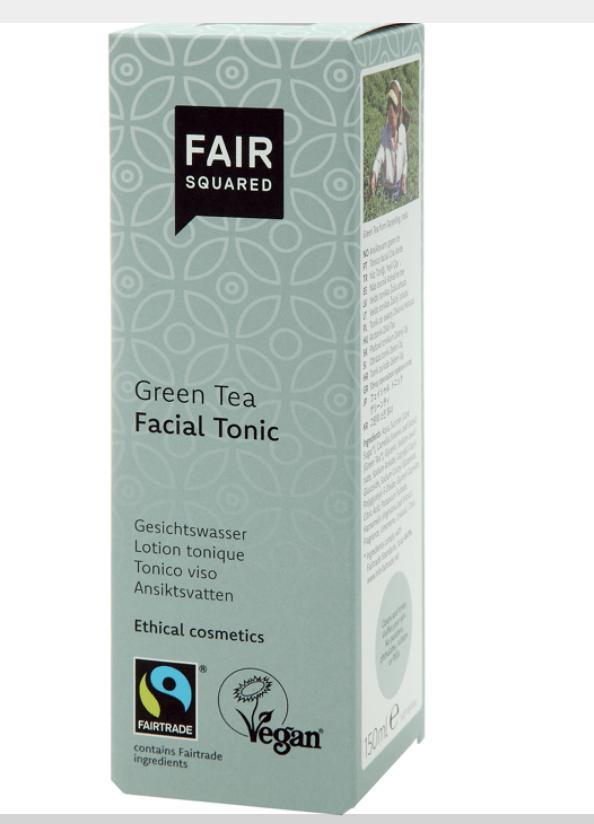 Fair Squared Gesichtswasser Grün Tee 150ml