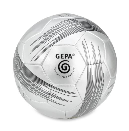Fussball Fairtrade Gepa | Grau & Schwarz