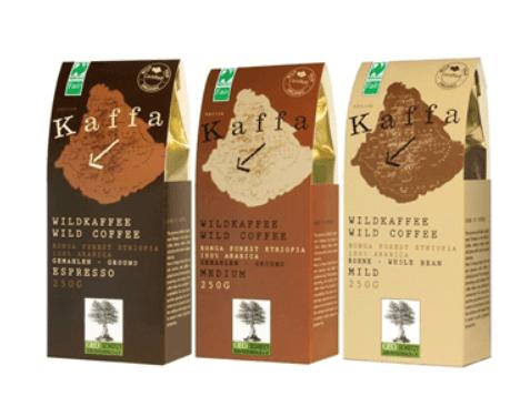 Kaffa Fairtrade Wildkaffee | 3er Set gemahlen