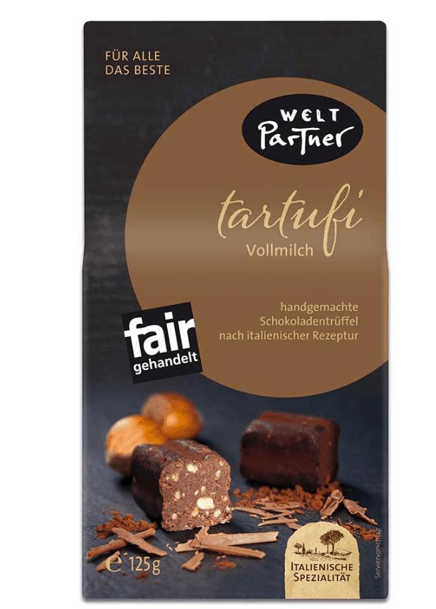 Schokolade von Weltpartner Tartufi Vollmilch | Fairer Handel