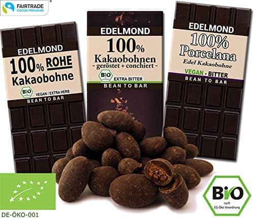 Edelmond Schokolade Kakao Paket | Bio, Fair & Vegan